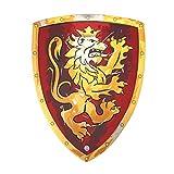 Liontouch 11650LT Noble Escudo de Caballero de Juguete de Espuma, Color Rojo, pequeño | Forma Parte de una línea de Disfraces para niños