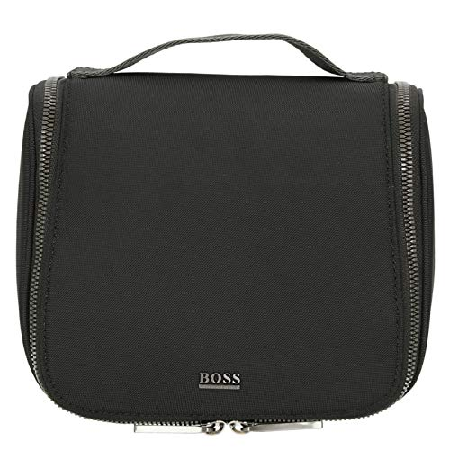 BOSS Men's First Class_Washbag Wrist Pocket, Black 1, ONESI