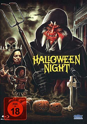 Halloween Night - Uncut - limitiertes Mediabook auf 333 Stück (+ DVD) - Cover B [Blu-ray]