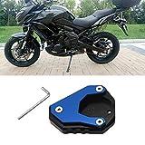 Artudatech - Almohadilla de extensión lateral para motocicleta para KA-WA-S-AKI Ninja 400 2018-2020, Versys 650 2010-2020
