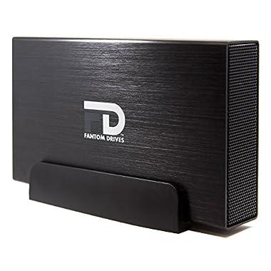 Fantom Drives 4TB External Hard Drive - USB 3.0/3.1 Gen 1 + eSATA Aluminum Case - Mac, Windows, PS4, and Xbox (GF3B4000EU)