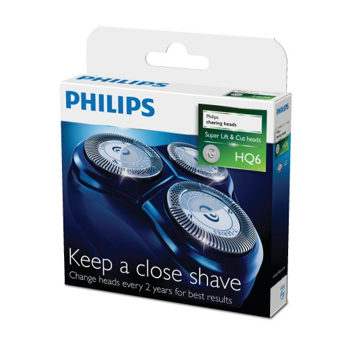 Philips HQ6/50 Quadra Action Scherkopf, 3er-Pack