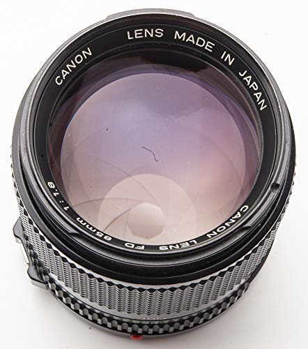 Canon Lens FD 85mm 85 mm 1.8 1:1.8 manuell