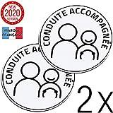 Takit Conduite Accompagnée Magnetique 2X - Version 2020 - Disque Magnétique 15cm