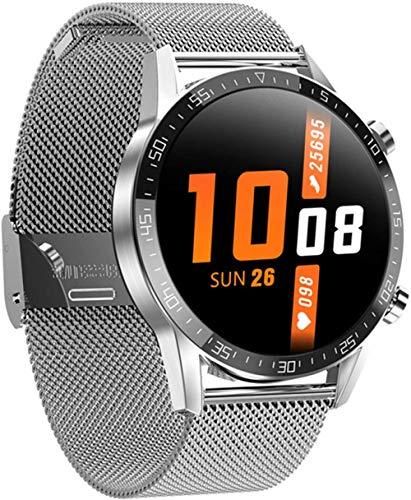 Smartwatch El último modelo de pantalla táctil completa T11 hombres s ritmo cardíaco presión arterial IP68 impermeable tiempo smartwatch VS DT78 L5 L8 L7-A