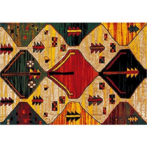 Max Tappeti Passatoia in Stile Etnico, for Corridoio Cucina Camera da Letto, Fondo in Plastica Antiscivolo, 3 Dimensioni Selezionabili (Color : #1, Size : 80×160cm)