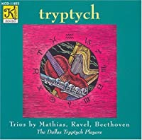 Tryptych: Trios for Flute, Harp & Viola by Mathias, Ravel, Beethoven (1995-12-14)