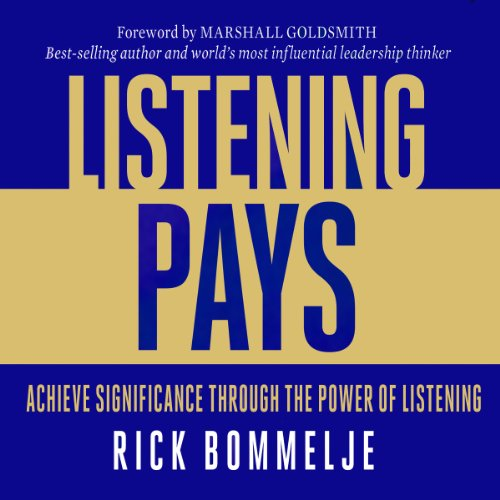 Listening Pays audiobook cover art