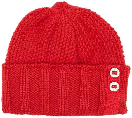Quiksilver Roxy Best Ever - Gorro para Mujer, tamaño único, Color Rojo