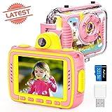 Appareil Photo Enfant Numérique Caméra pour Enfant, Caméras vidéo Action 1080P...