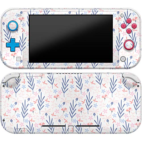 Cavka Vinyl Decal Skin Compatible with Console Switch Lite (2019) Stickers with Design Lavender Wildflowers Trend Cover Set Faceplate Durable Print Floral Full Watercolor Protector Nature Bloom Wrap