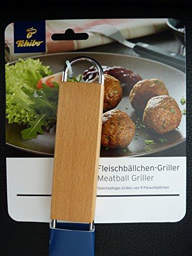 TCM Tchibo Fleischbällchen Griller Grillrost Grillzubehör Rost Fleisch