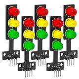 AZDelivery 5 x LED Ampel Modul Creative DIY Mini-Ampel...