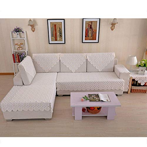 SINKITA Decorative Sofa Slipcover for L Shape Couch Cover Sectional Sofa Cover 1 2 3 4 Seater Sofa Protector Ultra-Thin Slipcover Armrest Backrest Settee Cover-A-70x70cm(28x28inch)