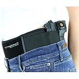 ComfortTac Belly Band Holster for Deep Concealed Carry Belt -Fits Pistol, Glock, 9mm, More -IWB OWB Appendix...