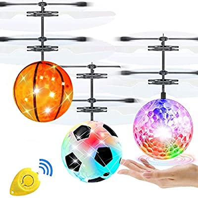 Amazon - Save 40%: 3 Pack Flying Ball Toys, RC Toy Gifts for Kids 4, 5, 6, 7, 8, 9, 10, 11, 12 Years Old…