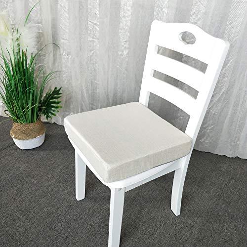 Sincere Cojín de silla grueso de tamaño personalizado, almohadilla de meditación interior, funda extraíble incluida, almohadillas de reacondicionamiento/cojines para banquillo de ventana, sofá tatami