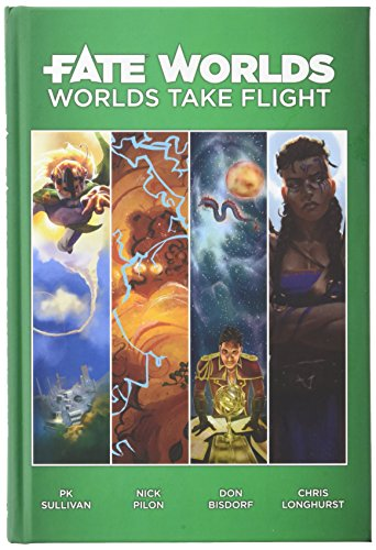 Evil Hat Productions Fate Worlds: Worlds take Flight