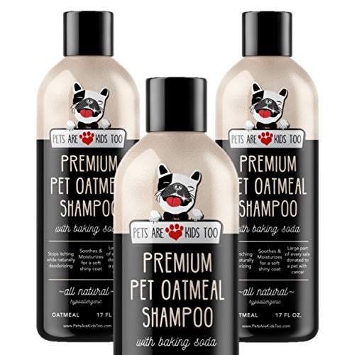Pet Oatmeal Anti-Itch Shampoo & Conditioner in One by Pets Are Kids Too