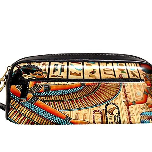 Estuche para lápices Marcador Bolígrafo Bolsa Organizador de escritorio mural egipcio Bolsa de almacenamiento