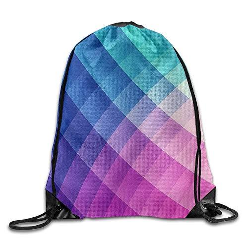 uykjuykj Bolsos De Gimnasio,Mochilas,Spectrum Bomb! Drawstring Backpack Rucksack Shoulder Bags Training Gym Sack Man Women Lightweight Unique 17x14 IN