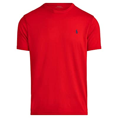 Polo Ralph Lauren Big & Tall Big Tall Perf Poly Jersey T-Shirt (RL 2000 Red) Men