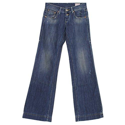 Herrlicher, Judie, Damen Damen Jeans Hose Denim Darkblue Vintage W 25 L 34 [18917]