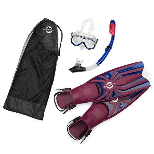 Snorkel Gear Set By Aquarena