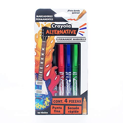 crayola alternative puntas dobles fabricante CRAYOLA