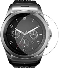 Puccy 3 Pack Tempered Glass Screen Protector Film, compatible with LG G Watch Urbane LTE Hybrid Watch Protectors Guard (ne...