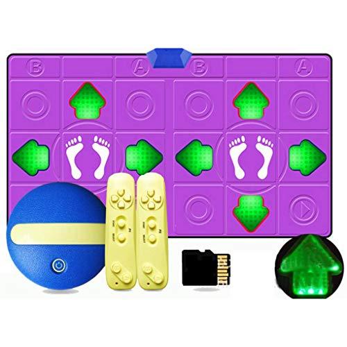 USB HD rutschfeste Tanz-Tanzmatte, Tanzspiele im Arcade-Stil Eingebaute Musik mit...