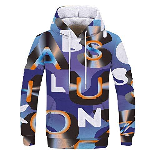 WEIYI BO Uomo/Donna Long Sleeve Camouflage Casual Hoodies Soft & Cozy Hooded Sweatshirts Sports Tops 276 XL
