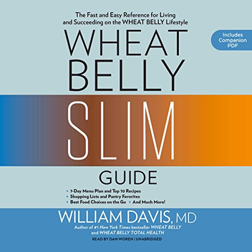 Wheat Belly Slim Guide audiobook cover art