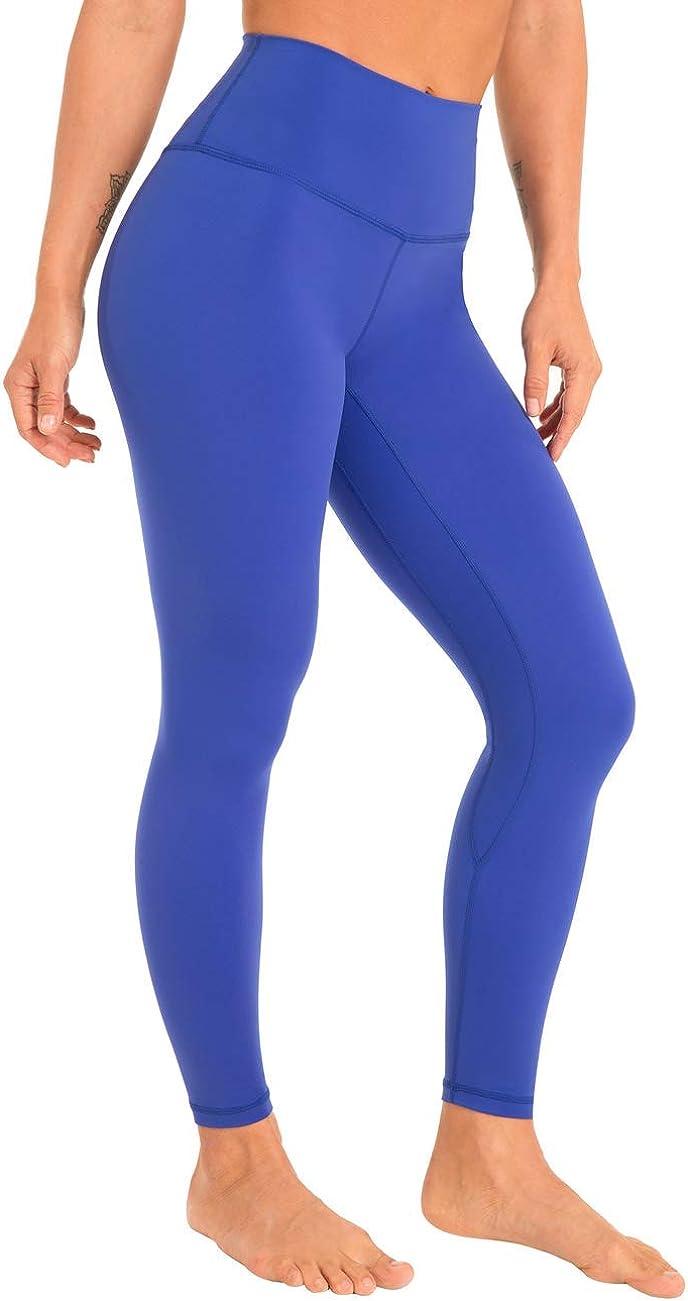 Hopgo Women's Yoga Max 45% OFF Pants 7 8 Wo Brushed Length High Atlanta Mall Soft Waisted