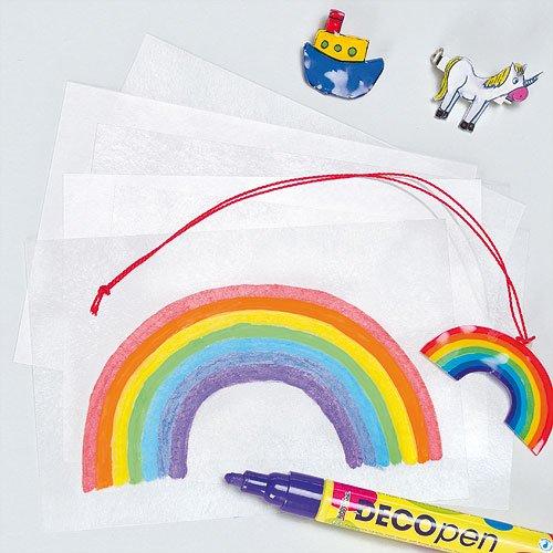 Fogli in plastica magica per bambini (confezione da 1)