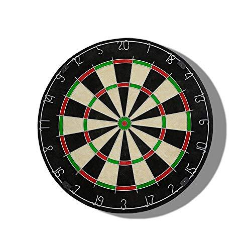Chendaorong Brain Game Inklusive 6 Messing Darts und Cricket Anzeiger Kit 45 Zentimeter (18 Zoll) Durchmesser Dartboard Doppelseitiger Flocked Dartscheibe Set Spielzeug für Kinder Kleinkinder