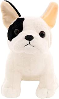 LuLezon French Bulldog Plush Toy Sitting Pose Mascot Dog Stuffed Doll for Kids Gift 8.7