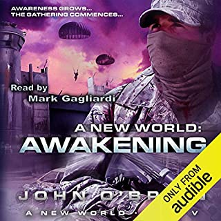 Awakening: A New World, Book 5 audiobook cover art