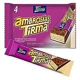 Tirma Ambrosías Chocolate Con Leche (4 Unidades x 21,5g) 86g