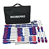 WORKPRO W000808A 130-Piece Screwdriver w/ Carrying Bag