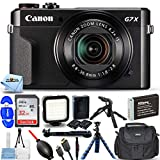 Canon PowerShot G7 X Mark II (Black) 1066C001 -...