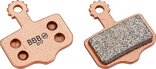 BBB Cycling Fahrrad Bremsbeläge Discstop Hp Organic / Sintered High Performance Bike Disc BBS-441, One size, Copper