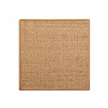casa pura Tapis griffoir Nature pour Chats | en sisal résistant | 3 Tailles au Choix | Produit Naturel - sans substances Chimiques | 50x50cm