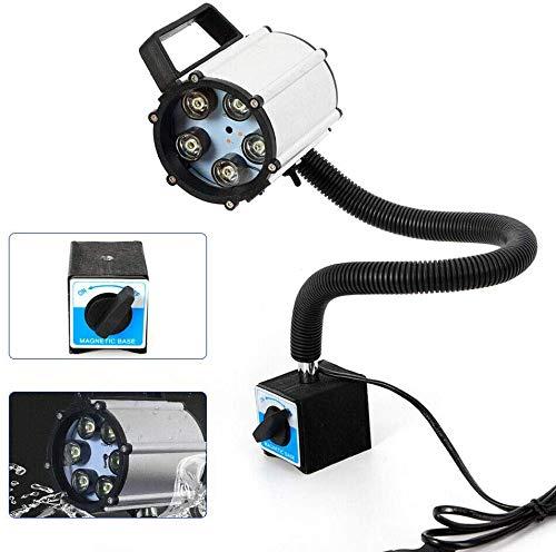 Arbeitsleuchte Licht 6W 3 LEDS CNC Magnetische Maschinenlampe Schwanenhals 220V