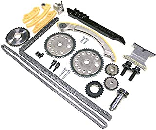 Full Timing Chain Kit For 00-11 Chevrolet Oldsmobile Pontiac Saturn GM 2.0 2.2 2.4 DOHC Ecotec   Bolt Set + Nozzle For Cam Shaft + Balance Shaft (IF-94201S + IF-94202S)