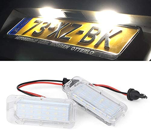Paision LED License Many popular brands Plate Ranking TOP12 Light Tag Compatible Ford Lamp With Ex