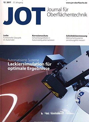 JOT Journal für Oberflächentechnik [Jahresabo]