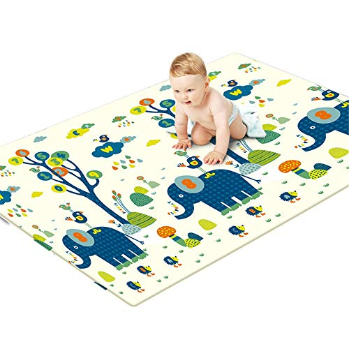 Buy Children Play Mat Kids Play Mat Play Mat Foam Crawling BPA Free Non Toxic Extra Large Reversible...