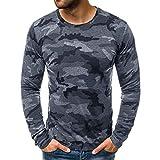 N\P Verano Camuflaje Camiseta Hombres Casual O-Cuello Algodón Streetwear Camiseta Hombres