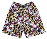 LAX SO HARD Boys Maryland Lacrosse Shorts, Youth XLarge